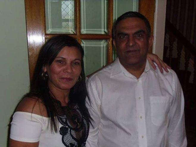 Vlasta Dunova and her husband Miroslav Duna