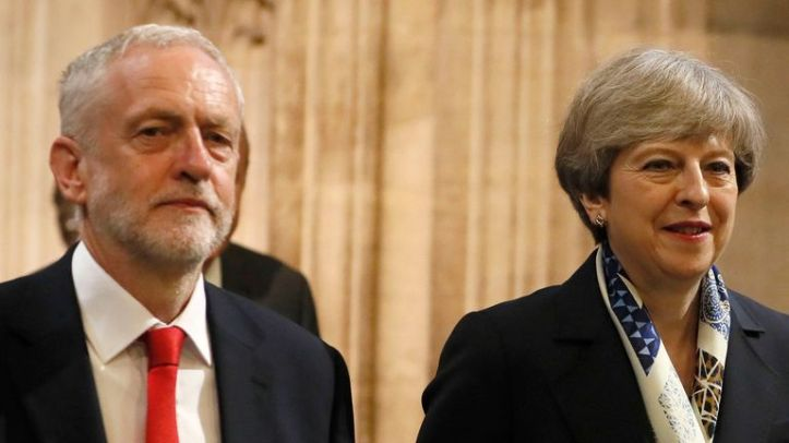 Jeremy Corbyn and Theresa May could debate the Brexit deal