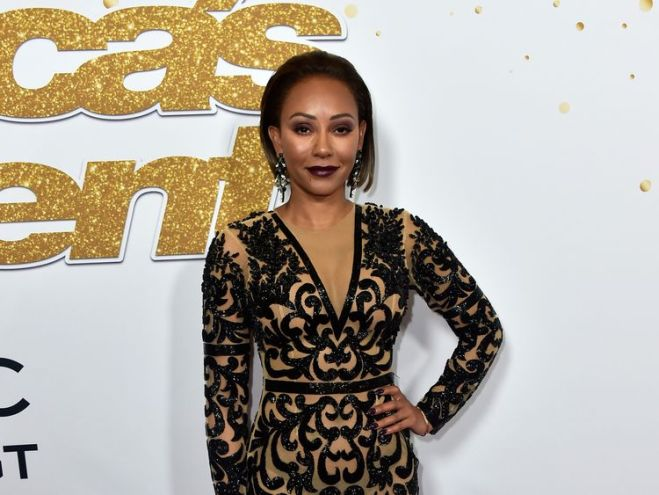 """Mel B, Melanie Brown, attends the """"America's Got Talent"""" Season 13 Live Show at Dolby Theatre on August 14, 2018 in Hollywood, California."""
