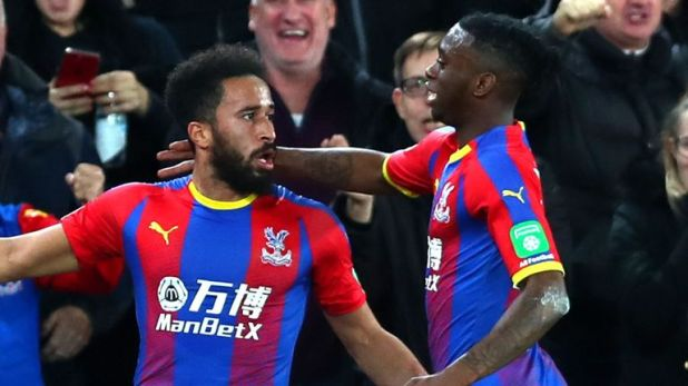 Highlights from Crystal Palace's 2-0 win over Burnley in the Premier League