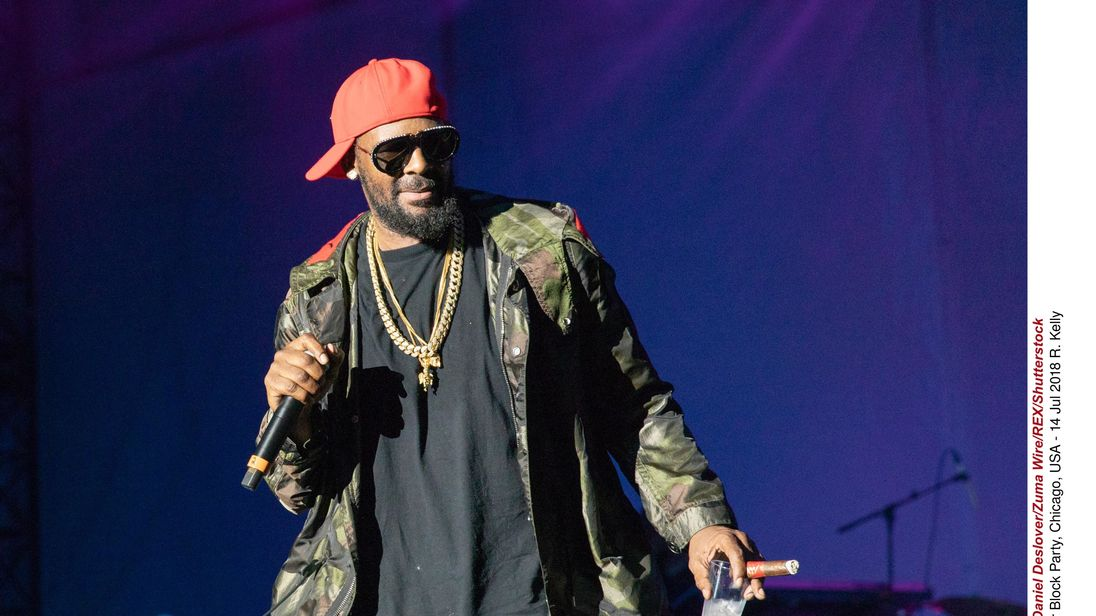 R Kelly pictured in 2018