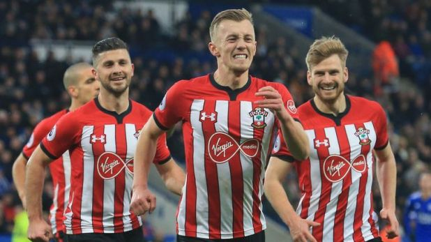 Leicester 1-2 Southampton