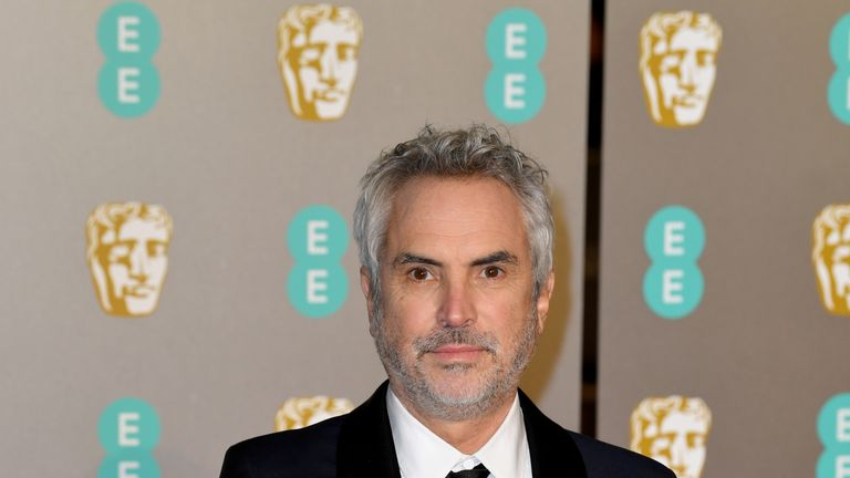 Alfonso Cuaron won the Director award for his film Roma