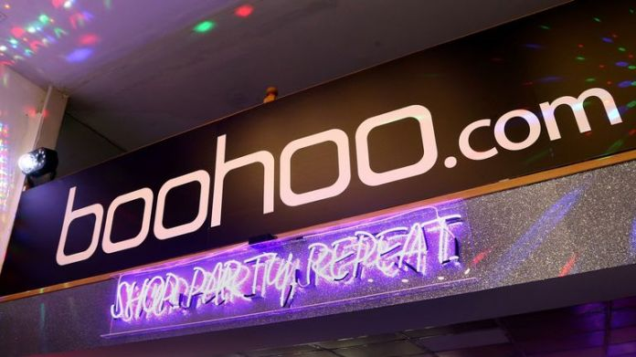 Boohoo was accused of creating a publicity stunt