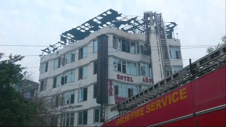 Delhi Feuer