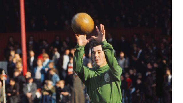 Stoke City's Gordon Banks Gordon Banks 1970/71 season