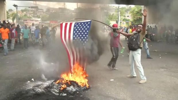 Haitians on Friday vowed to keep protesting until President Jovenel Moise resigns, despite his announcement of upcoming economic measures designed to quell more than a week of violent demonstrations across the country.
