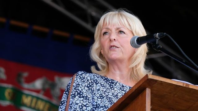 Jennie Formby was criticised by Labour MPs in the heated meeting