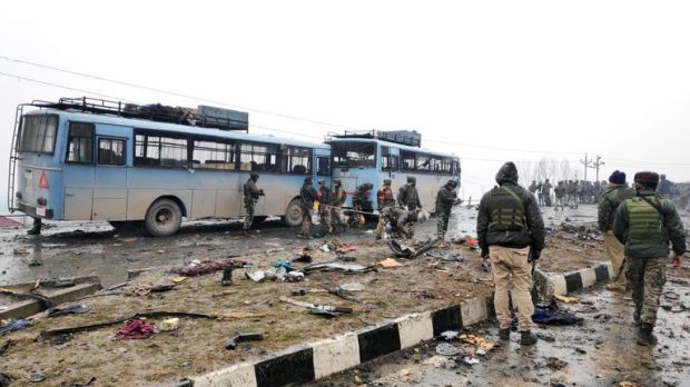The attack was one of the the biggest on Indian security forces in Kashmir