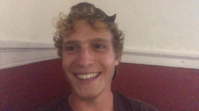 Lukas Haitzmann, 18, said he didn't miss having a phone too much while at sea for two months