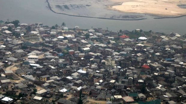 Port Harcourt, in Nigeria's oil rich Niger delta