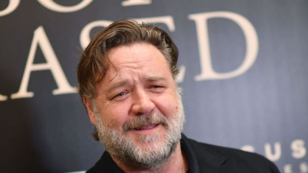 Actor Russell Crowe attends the special screening of 'Boy Erased' at The Whitby Hotel Theater on October 22, 2018 in New York City