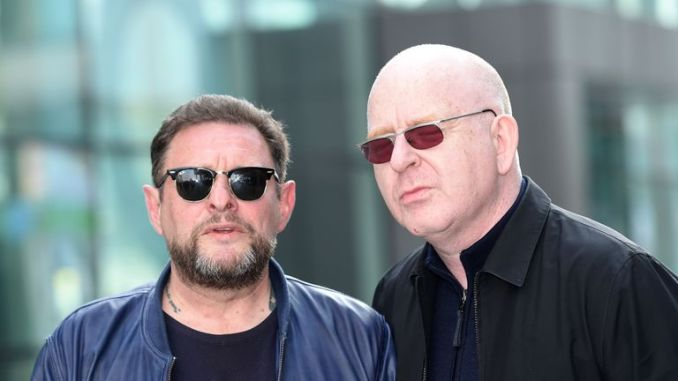 Alan McGee and Happy Mondays' Shaun Ryder in 2015