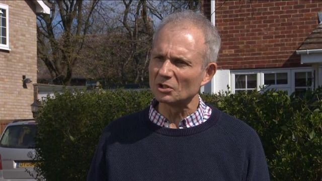 David Lidington has denied he wants to take over from Theresa May