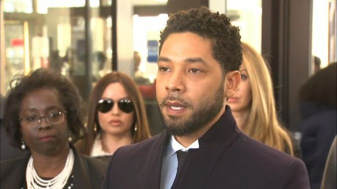 The case against Empire star Jussie Smollett has been dropped.