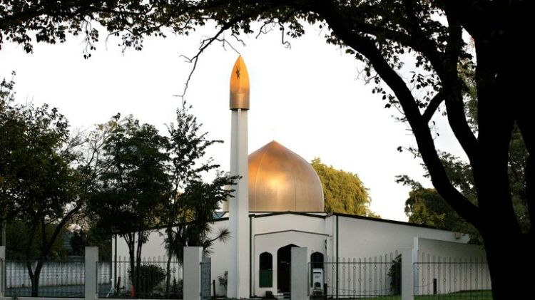 The Al Noor Mosque on Deans Avenue in Christchurch, New Zealand
