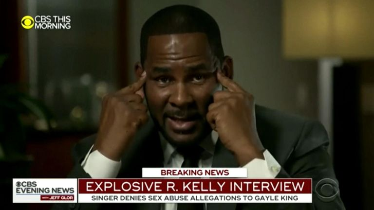 R Kelly said he would have been mad to do the things he is accused of Pic: CBS THIS MORNING
