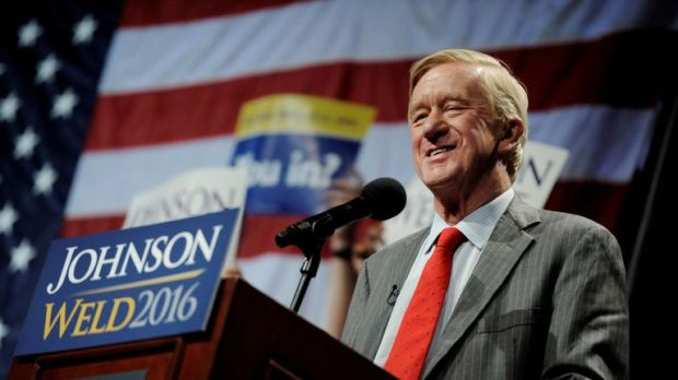 Bill Weld was the vice-presidential candidate for the Libertarian Party in 2016