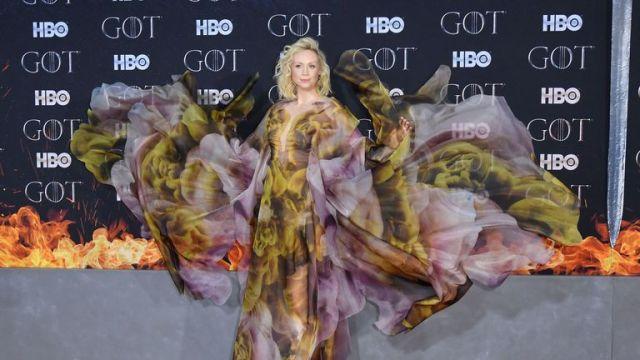 Gwendoline Christie, who plays Brienne of Tarth