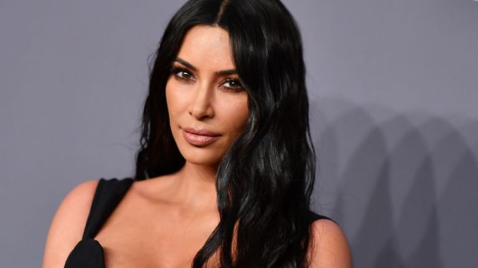 Kim Kardashian West arrives to attend the amfAR Gala New York at Cipriani Wall Street in New York City on February 6, 2019