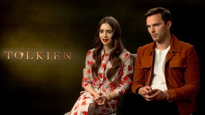 The stars of the biopic Tolkien discuss why the author's family should go and see the film.