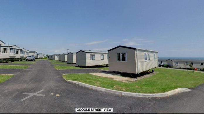 The police were called to Tencreek Holiday Park