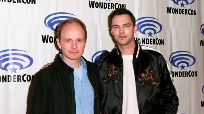 "Dome Karukoski and Nicholas Hoult attend the ""Tolkien"" press line during WonderCon 2019 at Anaheim Convention Center on March 29, 2019 in Anaheim, California. (Photo by Paul Butterfield/Getty Images)"