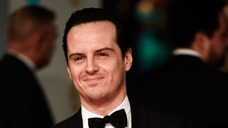 "Andrew Scott became a sex symbol after playing a ""hot priest"" in hit TV show Fleabag"