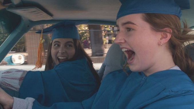 Beanie Feldstein stars as Molly and Kaitlyn Dever as Amy in Olivia Wilde's directorial debut, BOOKSMART, an Annapurna Pictures release.Credit: Courtesy of Annapurna Pictures.