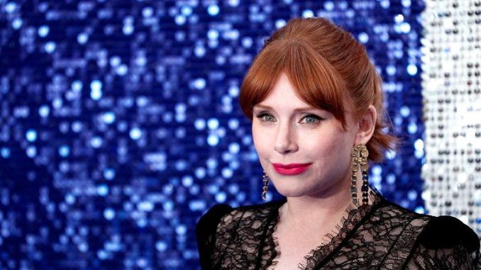 Bryce Dallas Howard plays Elton John's mother Sheila in the movie