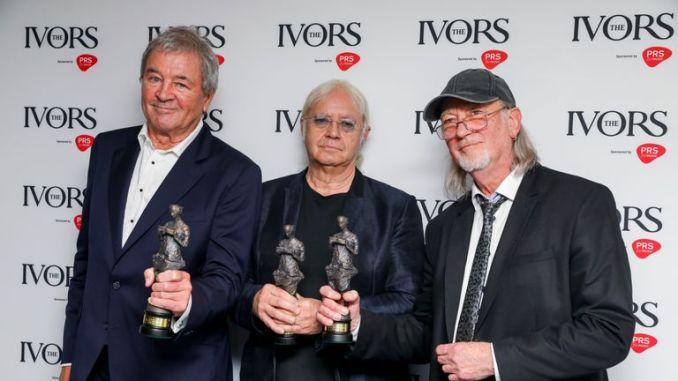 "Deep Purple singer Ian Gillan said winning the international award was a ""great honour"""