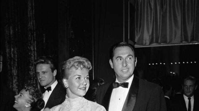 Doris Day with husband Marty Melcher