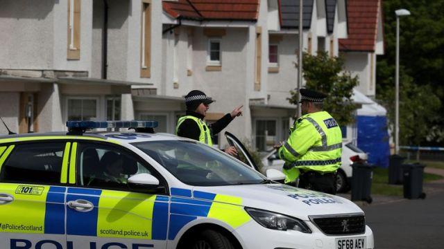Police in Fairfeild Park, Ms Faulds from Kilmarnock was last seen