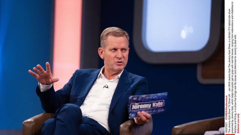 The Jeremy Kyle Show has been taken off air