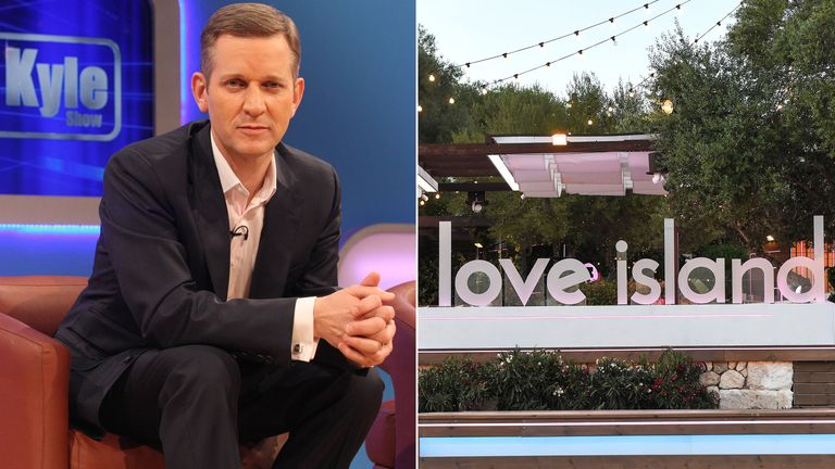 Jeremy Kyle and Love Island. Pic: James Gourley/ITV/REX/