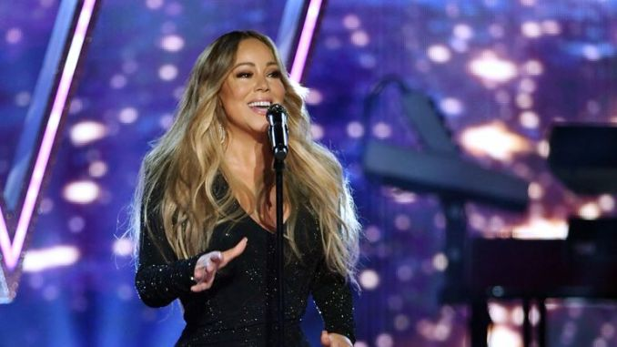 """Mariah Carey was unable to attend the ceremony, but said her award for """"extraordinary global talent"""" was an """"incredible honour"""""""