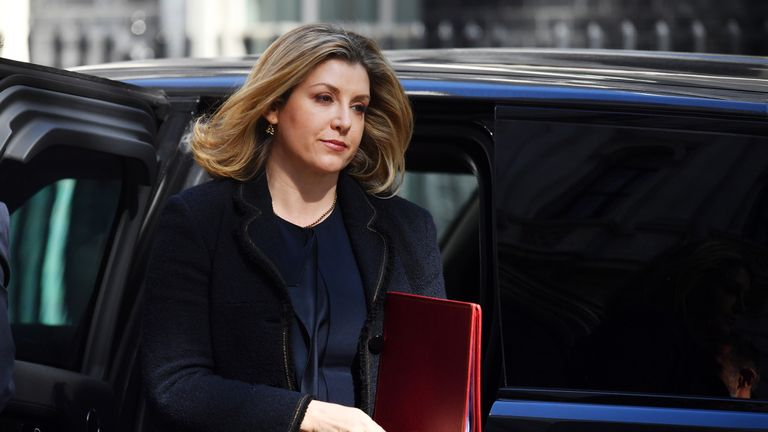 Secretary of State for Defence of the United Kingdom Penny Mordaunt