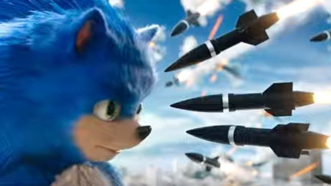 Sonic The Hedgehog. Pic: Paramount Pictures