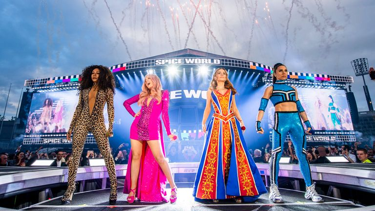 skynews-spice-girls-dublin_4680260 Spice Girls film 'in the works and even Posh is on board'