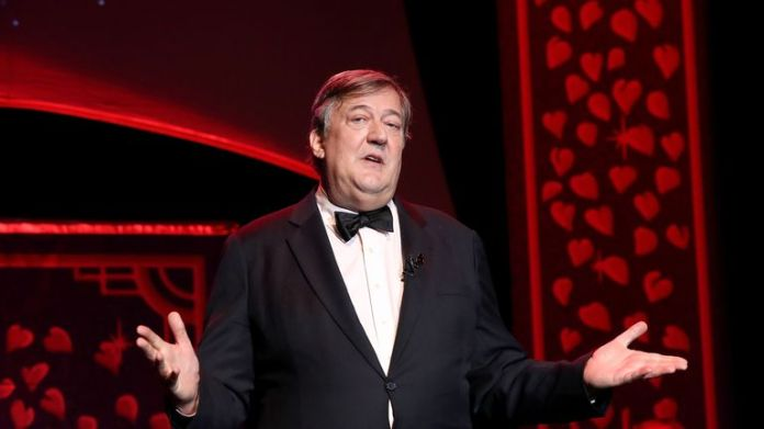 Stephen Fry signed the letter in support of Eurovision