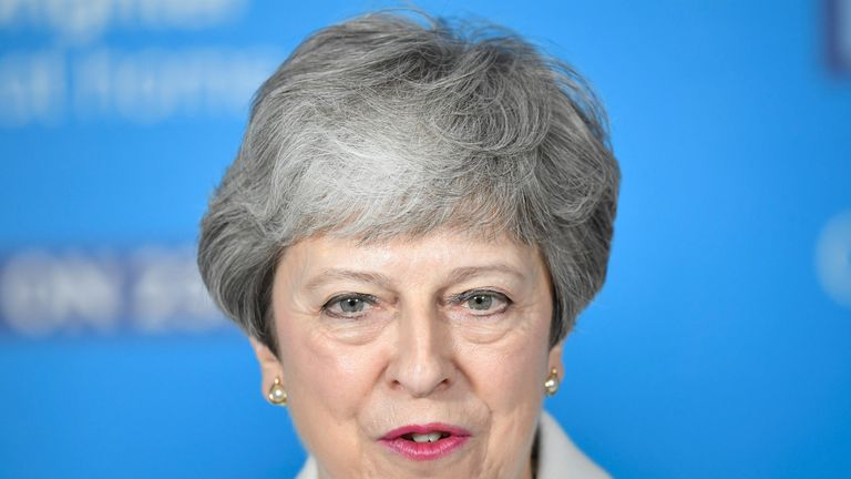 skynews-theresa-may-conservatives_4673283 PM blocks 'amnesty' for soldiers facing Troubles allegations