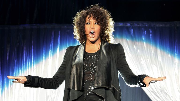 Whitney Houston on May 3, 2010 in Milan, Italy.
