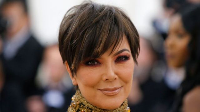 """Kris Jenner arrives at the Metropolitan Museum of Art Costume Institute Gala (Met Gala) to celebrate the opening of """"Heavenly Bodies: Fashion and the Catholic Imagination"""" in the Manhattan borough of New York, U.S., May 7, 2018. REUTERS/Eduardo Munoz"""