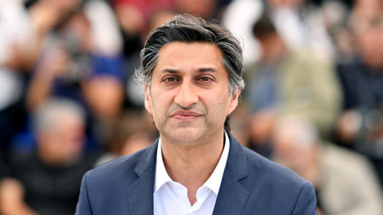 """Asif Kapadia attends the photocall for """"Diego Maradona"""" during the 72nd annual Cannes Film Festival on May 20, 2019 in Cannes, France. (Photo by Pascal Le Segretain/Getty Images)"""