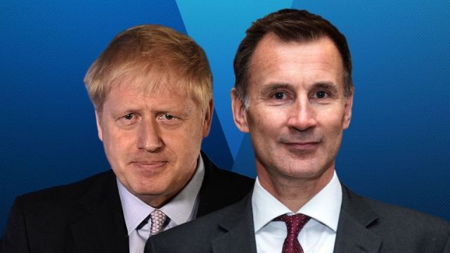 Boris Johnson and Jeremy Hunt are taking part in the latest Tory leadership hustings