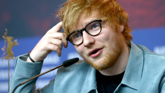 Ed Sheeran at the 'Songwriter' press conference during the 68th Berlinale International Film Festival Berlin at Grand Hyatt Hotel on February 23, 2018 in Berlin, Germany.