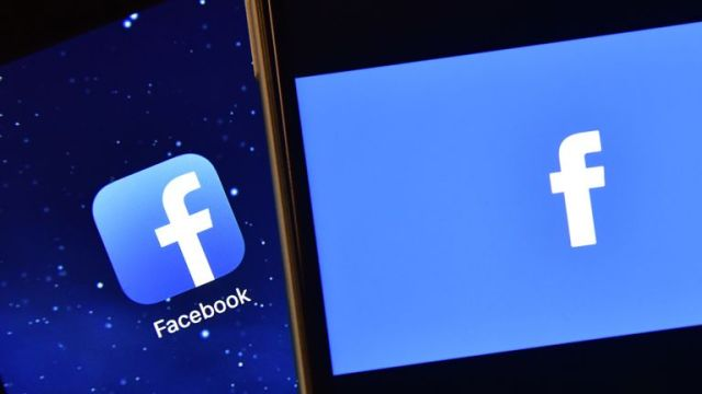 LONDON, ENGLAND - AUGUST 03: The Facebook app logo is displayed on an iPad next to a picture of the Facebook logo on an iPhone on August 3, 2016 in London, England. (Photo by Carl Court/)
