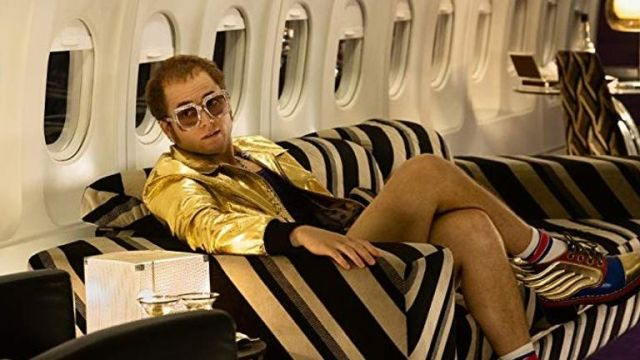 Taron Egerton as Elton John in Rocketman