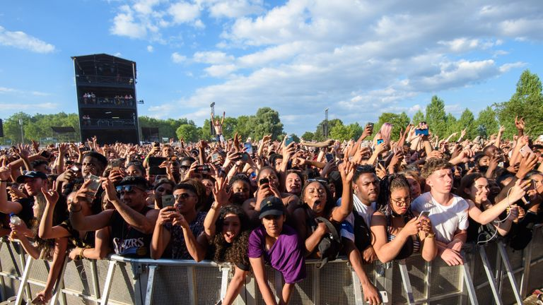 Embargoed to 0001 Monday June 10 File photo dated 8/7/2018 of the crowd at the Wireless Festival, in Finsbury Park, north London. Festival-goers and sports fans are being warned to avoid buying fake tickets, after scam victims lost more than 1.6 million in a year.