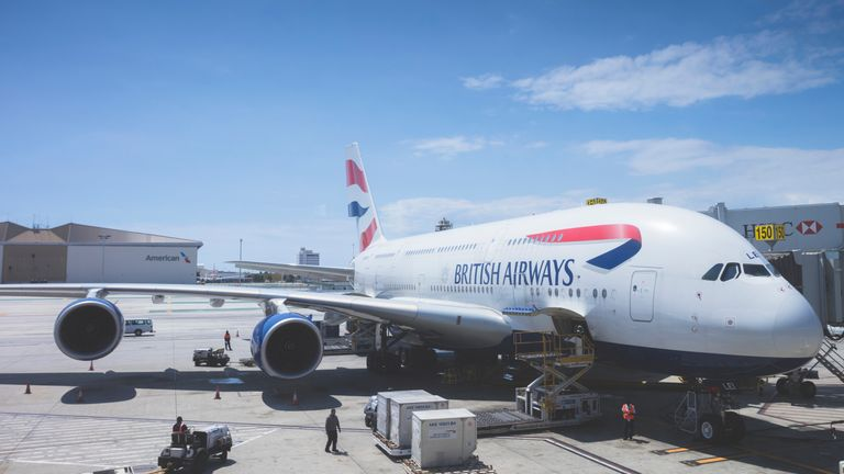 British Airways said it was suspending flights to Cairo for security reasons